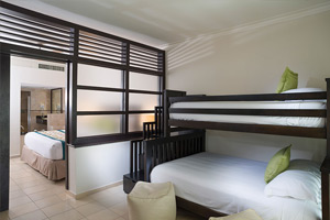 Deluxe Family Jacuzzi Suite - Family Area Accommodations - Memories Splash Punta Cana - All Inclusive
