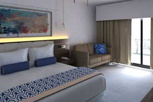 Deluxe Room - Family Area Accommodations - Memories Splash Punta Cana - All Inclusive